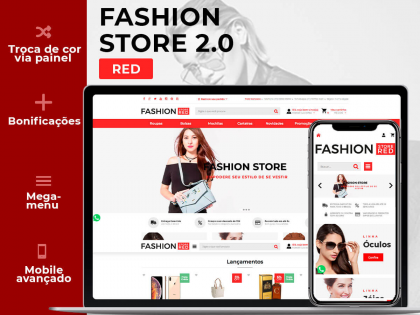 Fashion Store Red Xtech